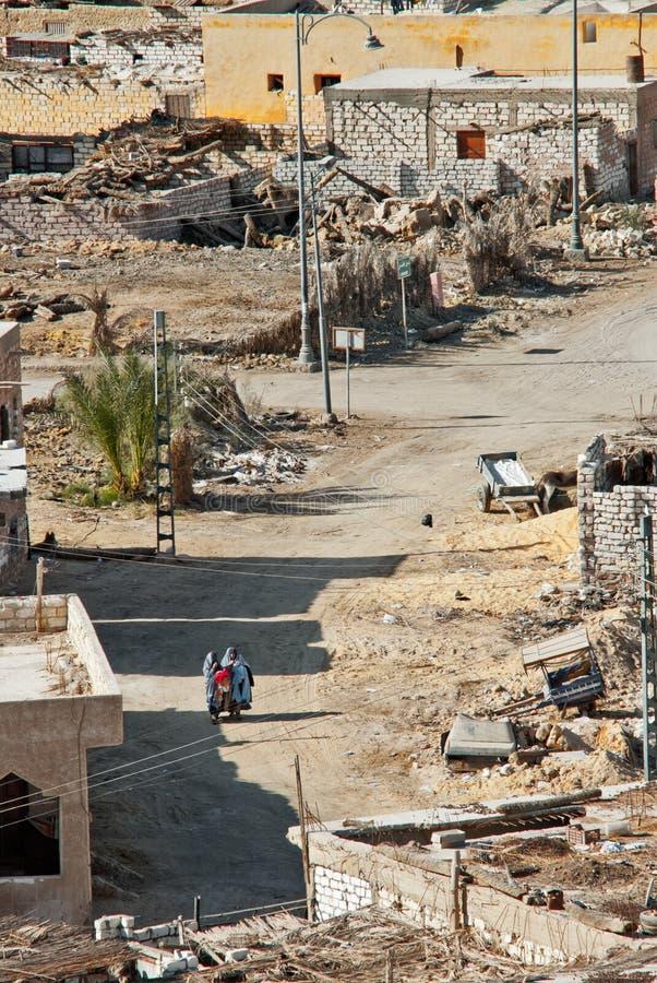Vila dos oásis de Siwa imagens de stock royalty free
