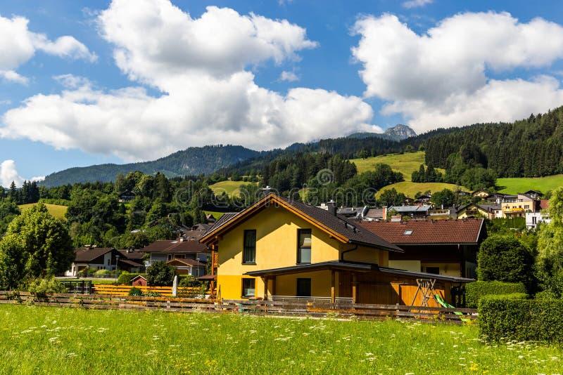 Vila em Áustria fotos de stock