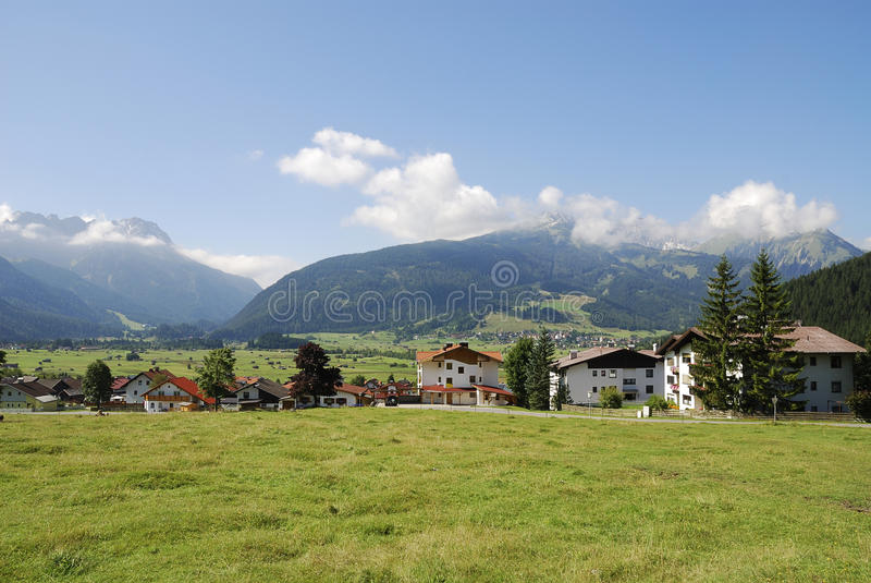 Vila em Áustria foto de stock royalty free