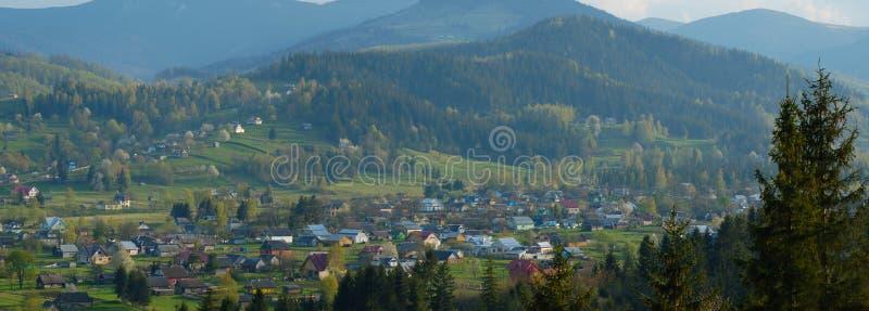 Vila em Ucrânia imagem de stock