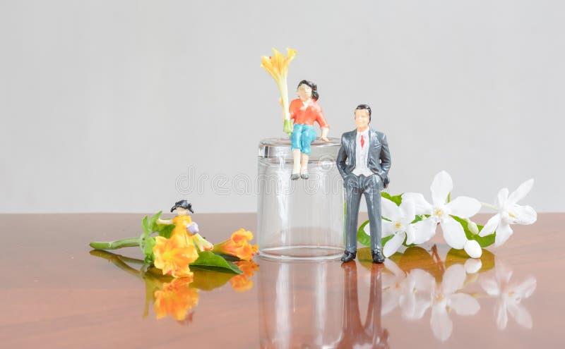 Vila för familj royaltyfri fotografi