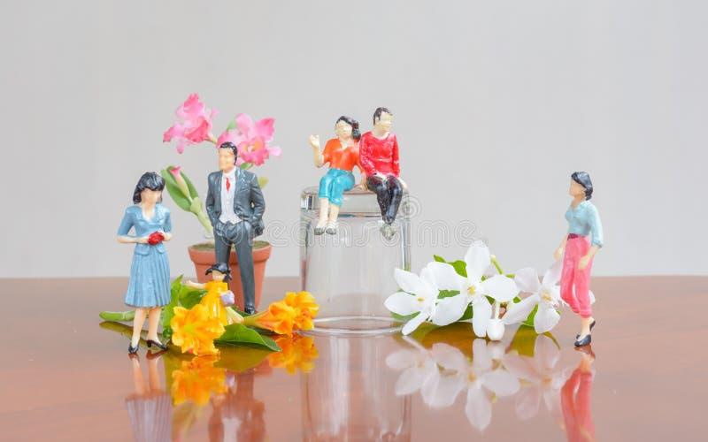 Vila för familj royaltyfria foton