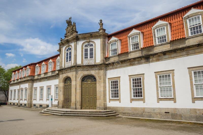 Vila Flor i mitten av Guimaraes arkivbilder