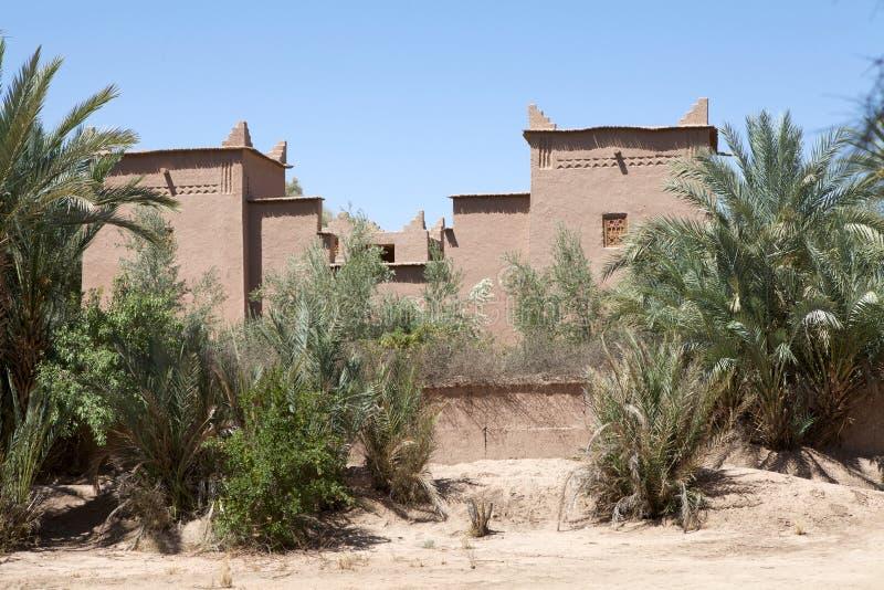 Vila fortificada Berber imagens de stock