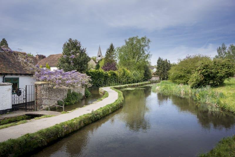 Vila fraca, Kent, Reino Unido fotografia de stock