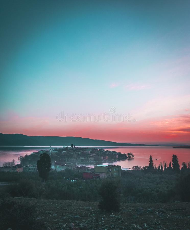 A vila Golyazi Bursa da ilha imagem de stock