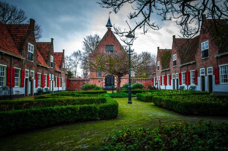 Vila holandesa foto de stock