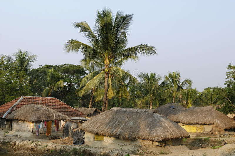Vila indiana imagens de stock