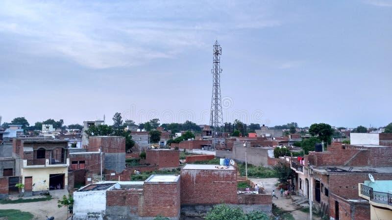 Vila indiana fotos de stock