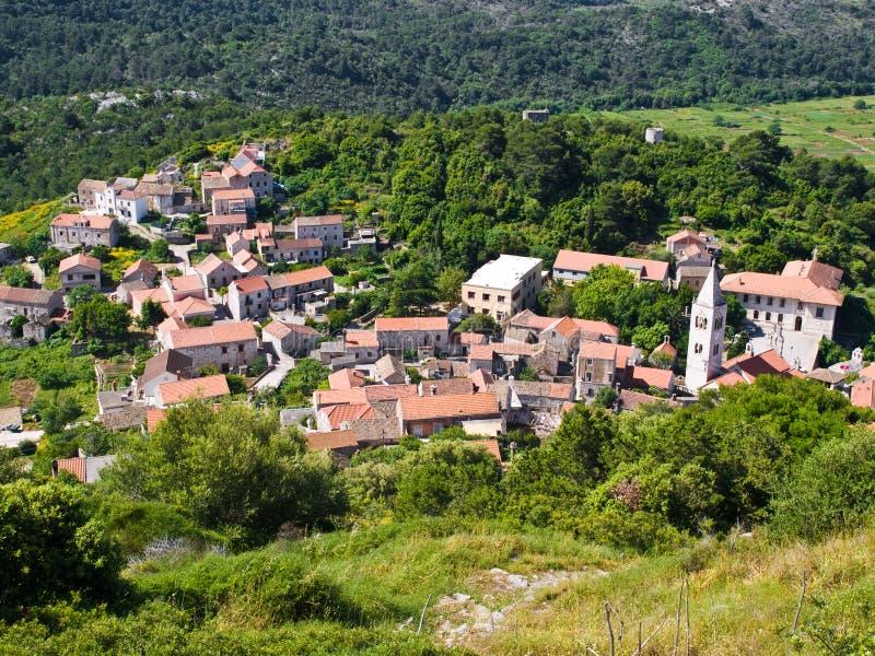 Vila Lastovo imagem de stock