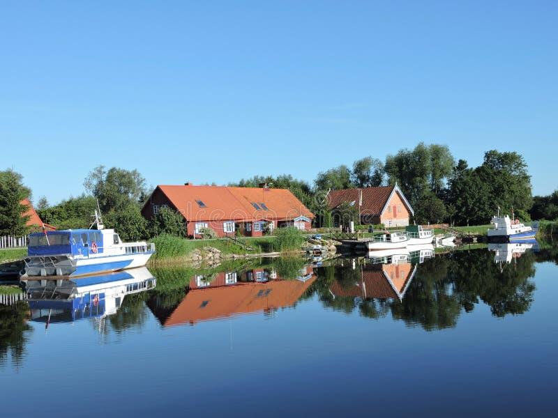 Vila Minge, Lithuania imagens de stock