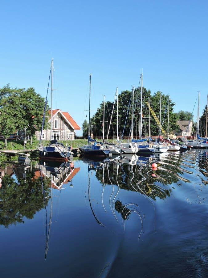 Vila Minge, Lithuania fotos de stock
