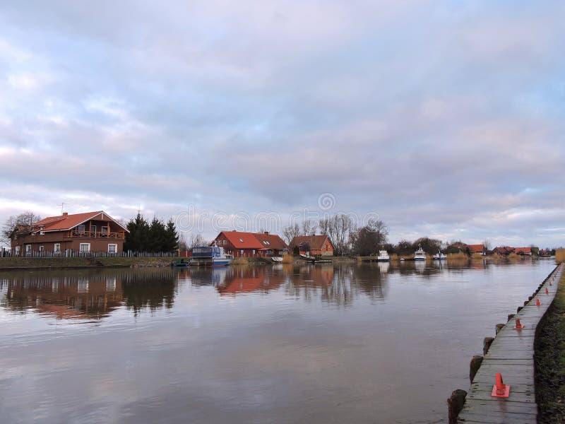 Vila Minge, Lithuania foto de stock
