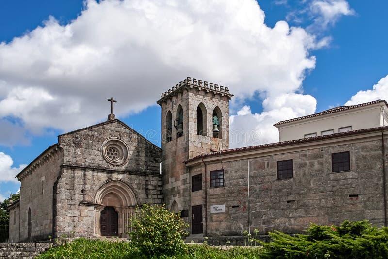 Vila Nova de Famalicao, le Portugal - le Santiago de Antas Monastery et l'église images stock
