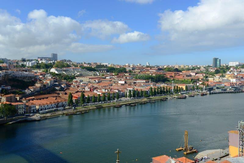 Vila Nova de Gaia, Oporto, Portugal fotografía de archivo