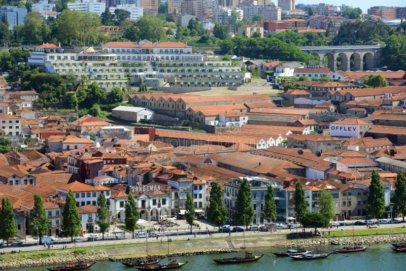 Vila Nova de Gaia, Oporto, Portugal fotografía de archivo libre de regalías
