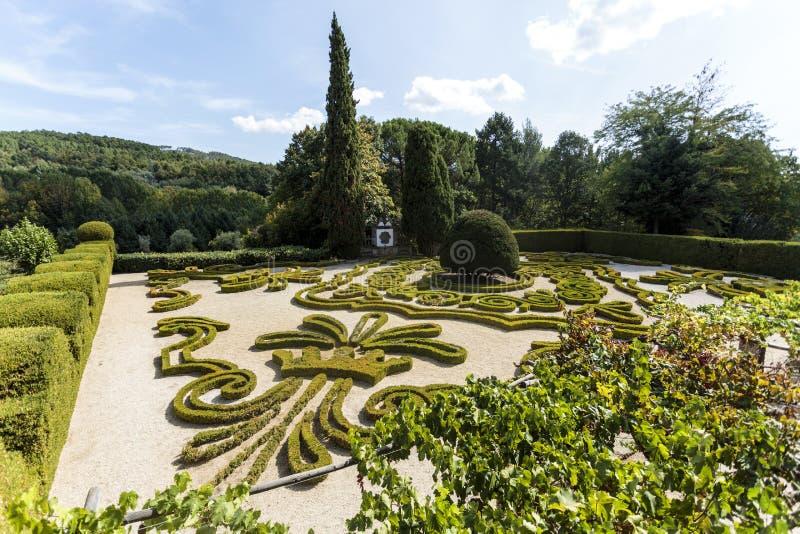 Vila Real - Mateus Palace Gardens image libre de droits