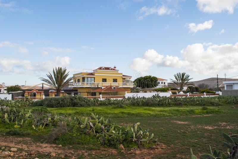 Vila tropical foto de stock royalty free