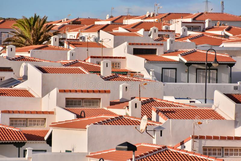 Vila tropical do mar fotografia de stock royalty free