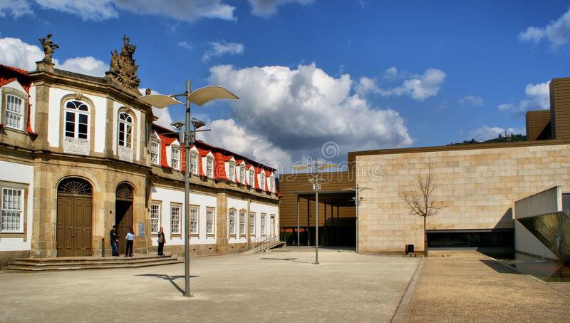 Download Vilaflor Cultural Centre In Guimaraes Stock Image - Image: 61084555