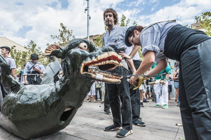 Download Vilafranca Del Penedes Festa Major Editorial Photography - Image: 26512742