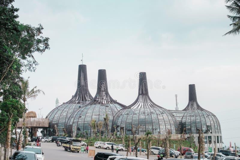 Vilage Semilir в semarang Индонезии стоковые изображения rf