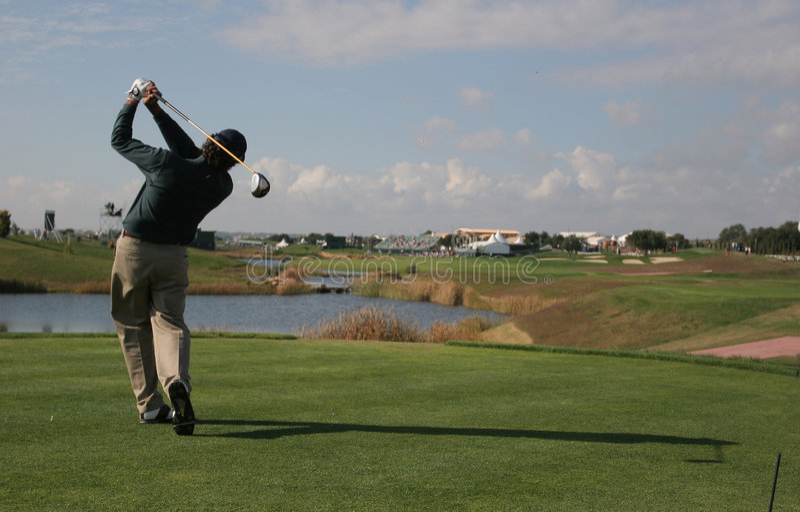 vilamoura ταλάντευσης γκολφ στοκ εικόνα
