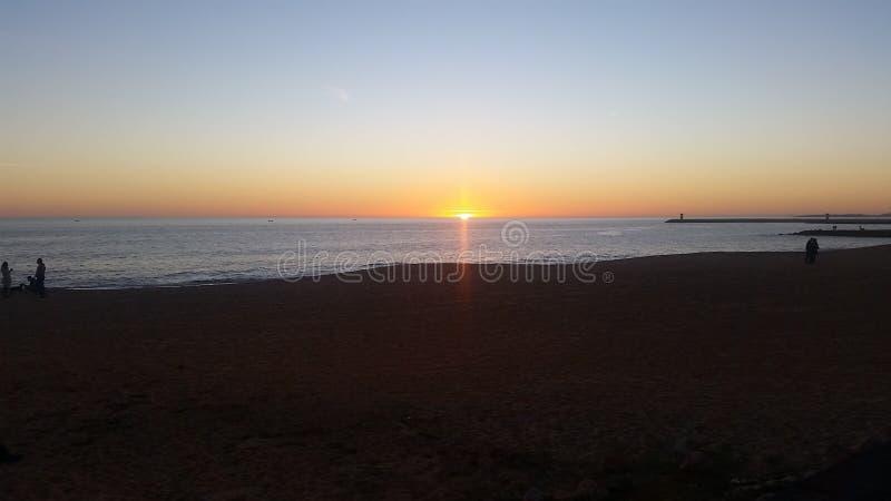 Vilamoura Sunset stock image