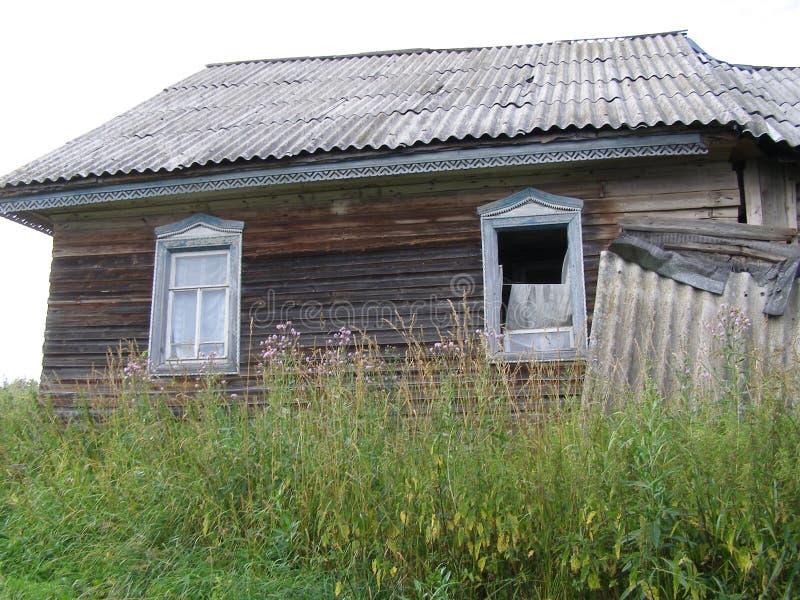 Vilas abandonadas foto de stock