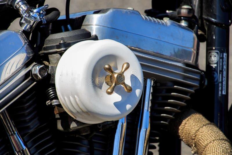 Vilassar de Dalt/Espagne ; 03 02 2019 : Motos de Harley Davidson en Vilassar de Dalt image libre de droits