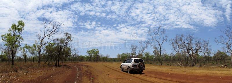 Vildmarkväg, Australien fotografering för bildbyråer
