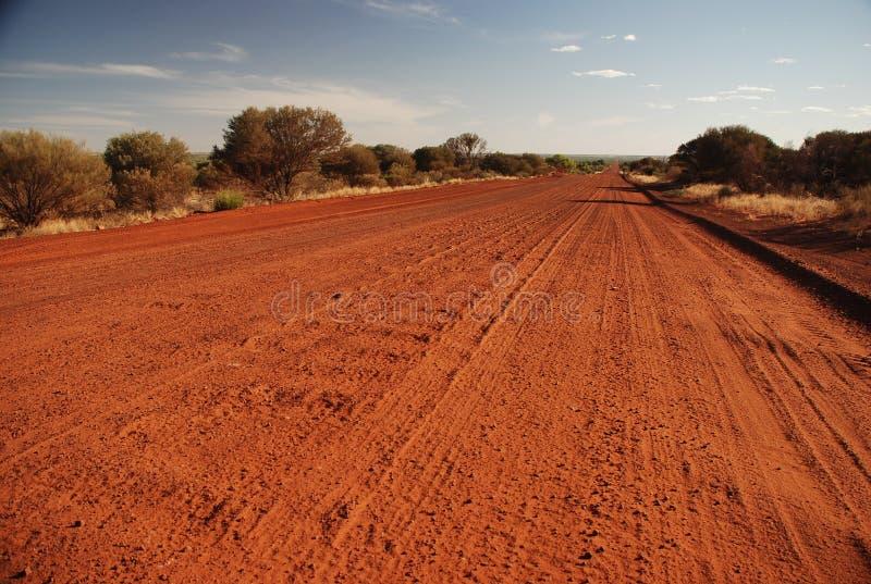 Vildmarkväg, nordligt territorium, Australien royaltyfria bilder