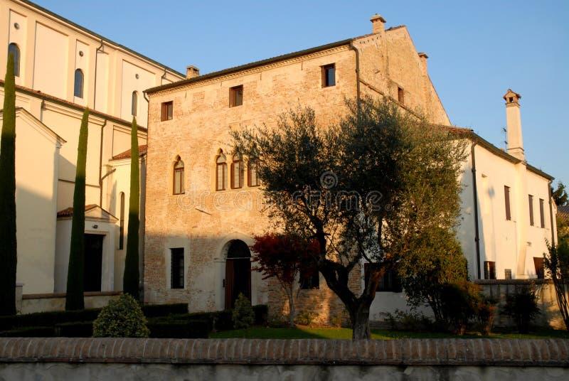Villa élégante où les vies de pasteur de Casalserugo une ville dans la province de Padoue en Vénétie (Italie) photo libre de droits