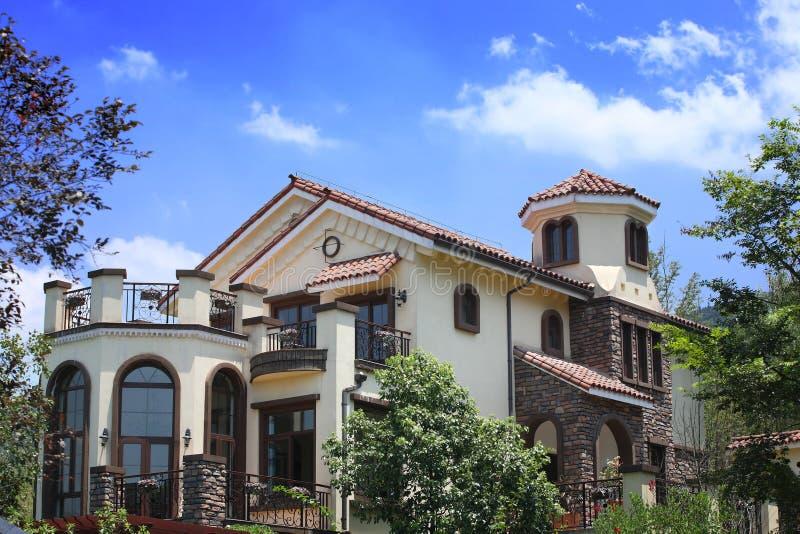 Villa stock fotografie