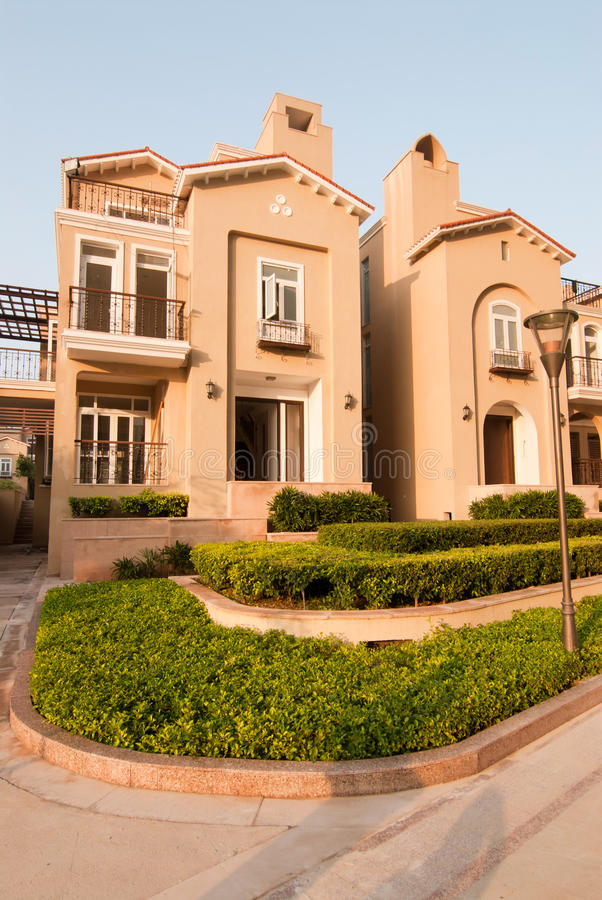 Villa royalty free stock photography