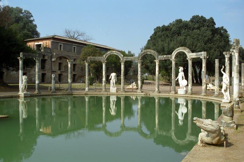 Download Villa Adriana, Italy stock photo. Image of legend, italian - 24895948
