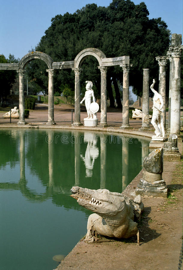 Download Villa Adriana, Italy stock photo. Image of culture, italy - 24896446