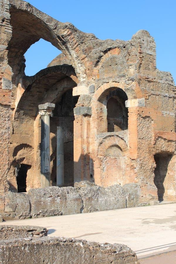 Villa Adriana near Rome royalty free stock photos