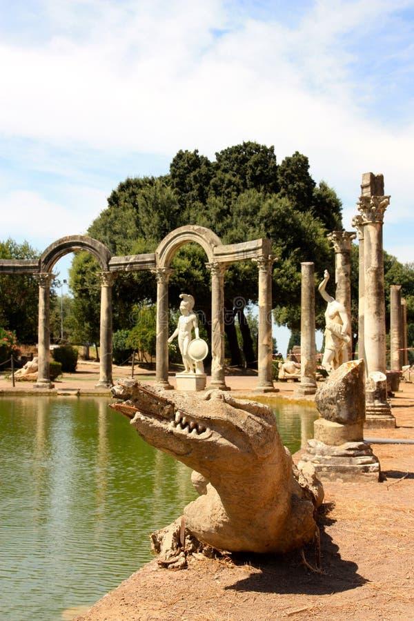 Villa Adriana Near Rome, Italy Royalty Free Stock Photos