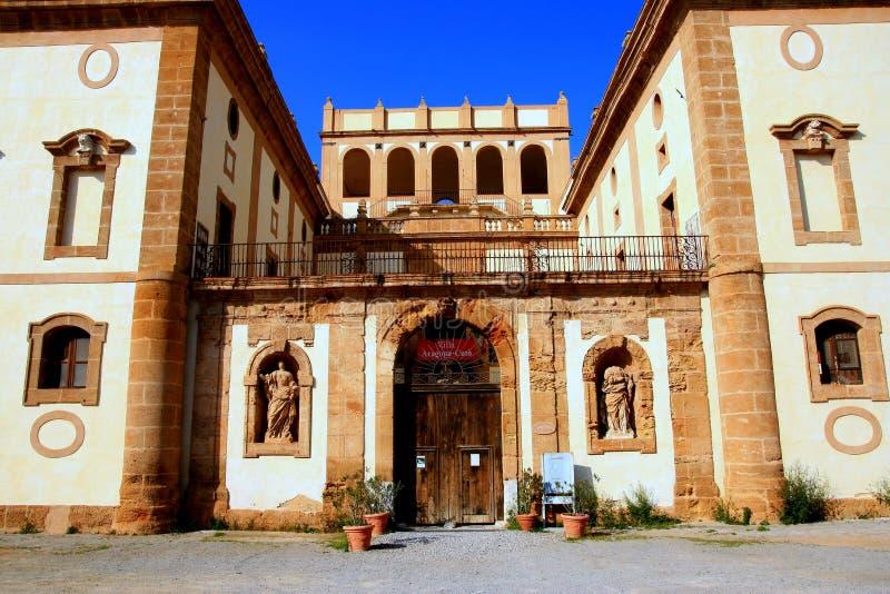 Villa Aragona, Italy royalty free stock images