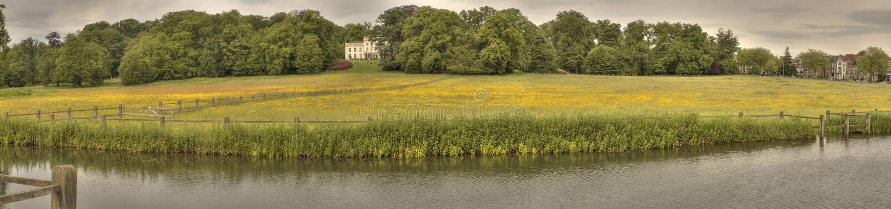 Villa Arnhem di Sonsbeek fotografie stock libere da diritti