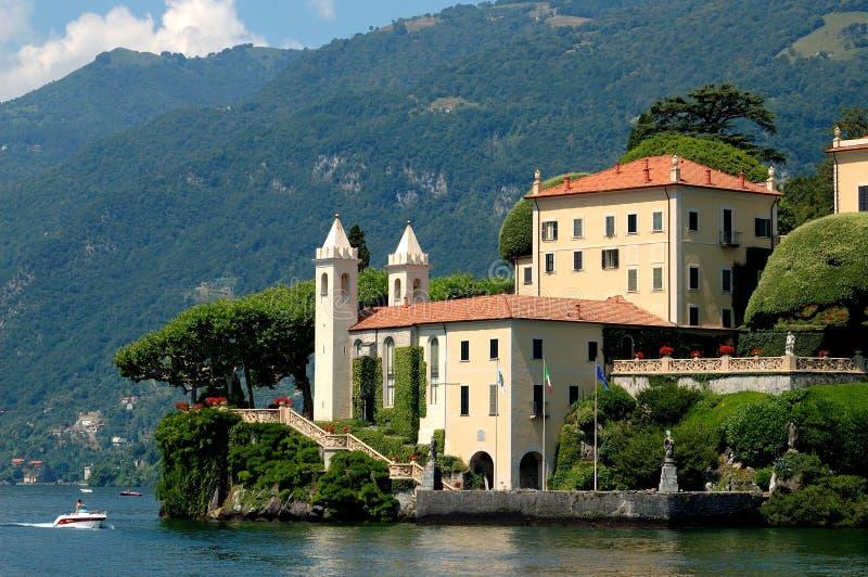 Villa balbianello royalty free stock image