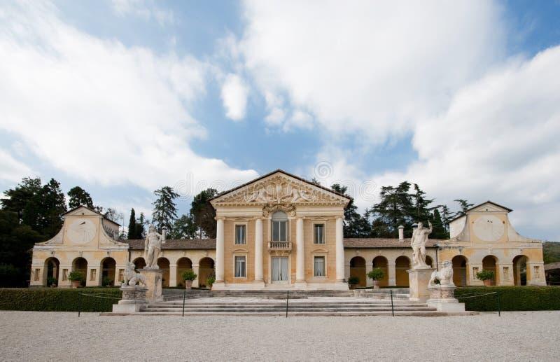 Villa Barbaro, Maser stock photos