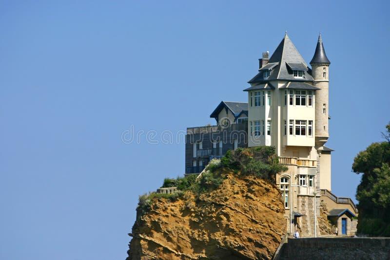 Villa Belza Biarritz fotografie stock libere da diritti