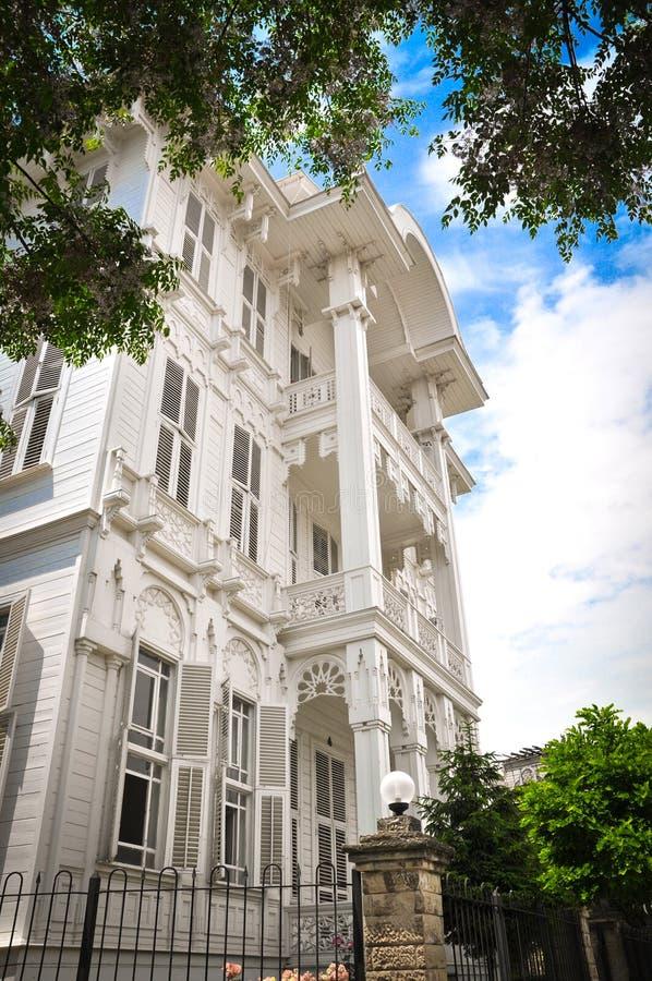 Villa blanche image stock