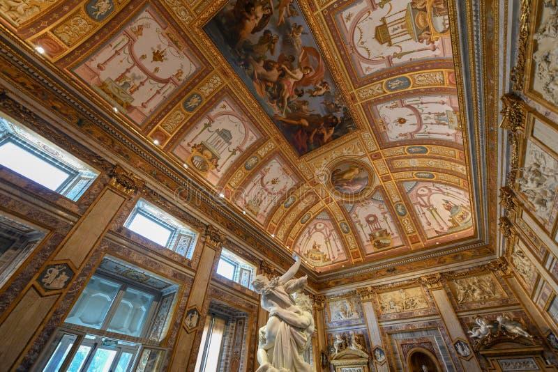 Villa Borghese - Rome, Italien royaltyfri fotografi