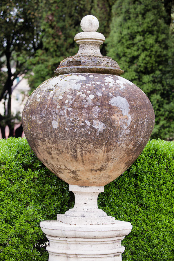 Villa Borghese Rome royalty free stock images