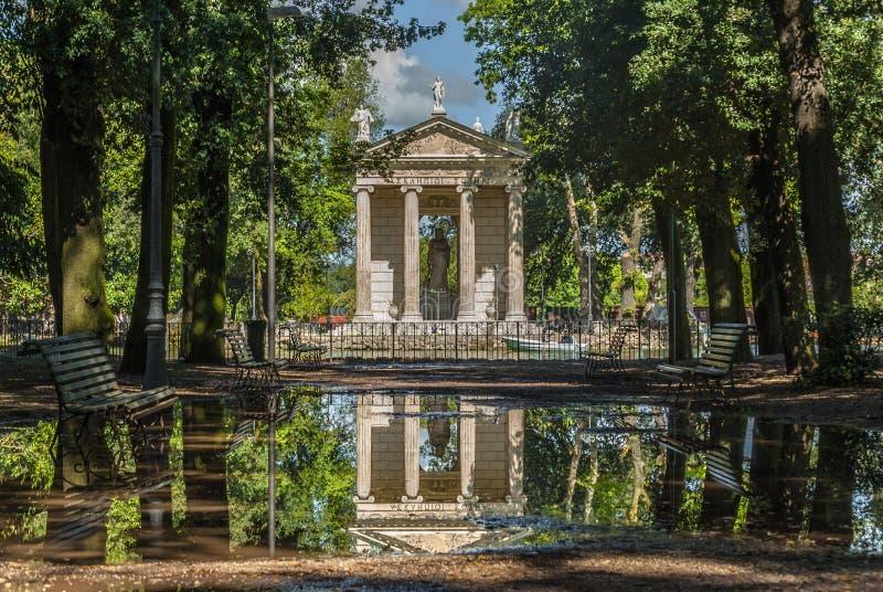 Villa borghese rome royalty free stock photos