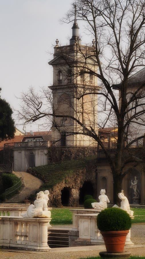 Villa Borromeo Visconti Litta royalty free stock photography