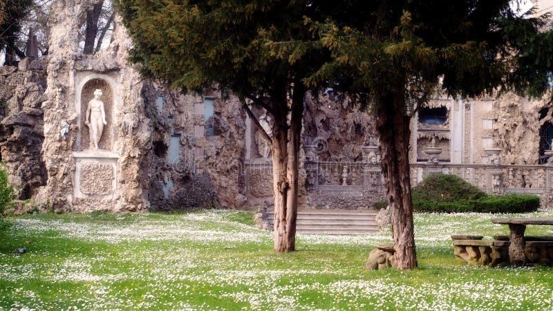 Villa Borromeo Visconti Litta på den Lainate staden royaltyfri foto